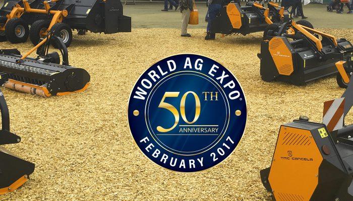 50 ANNIVERSAIRE DE LA WORLD AG EXPO