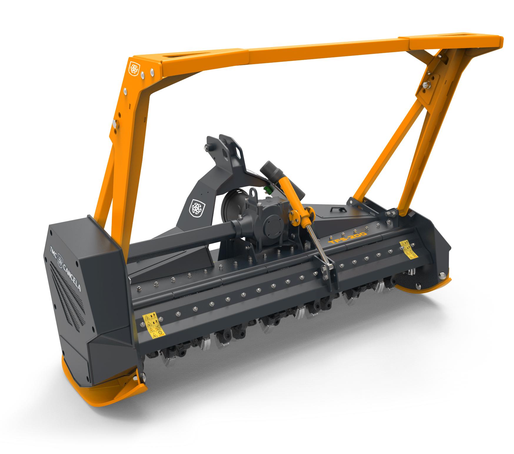 TFS 2 Trinciatrice Trincia Trituradora Triturador Forestal Foresta Forestale