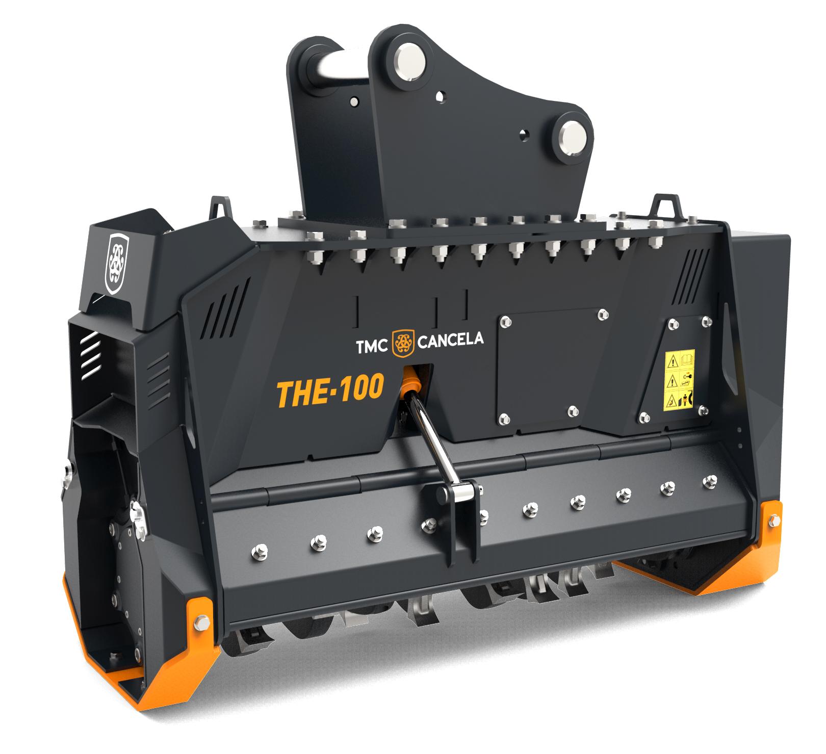 THE 1 Trinciatrice Trincia Trituradora Triturador Hidraulica