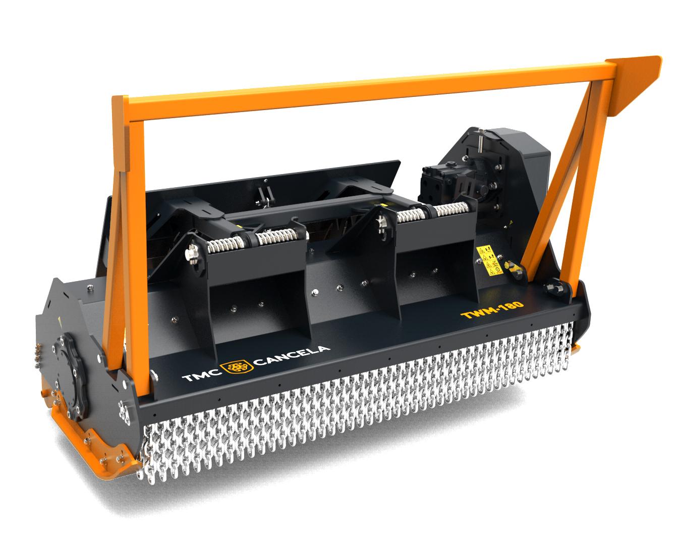 TWM 2 Trinciatrice Trincia Trituradora Triturador Hidraulica