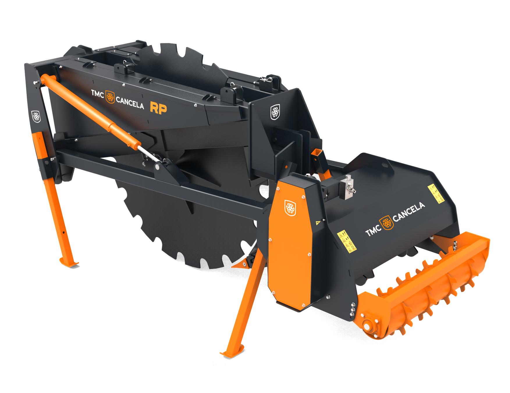 RP 01 Trinciatrice Trincia Trituradora Triturador Forestal Foresta Forestale