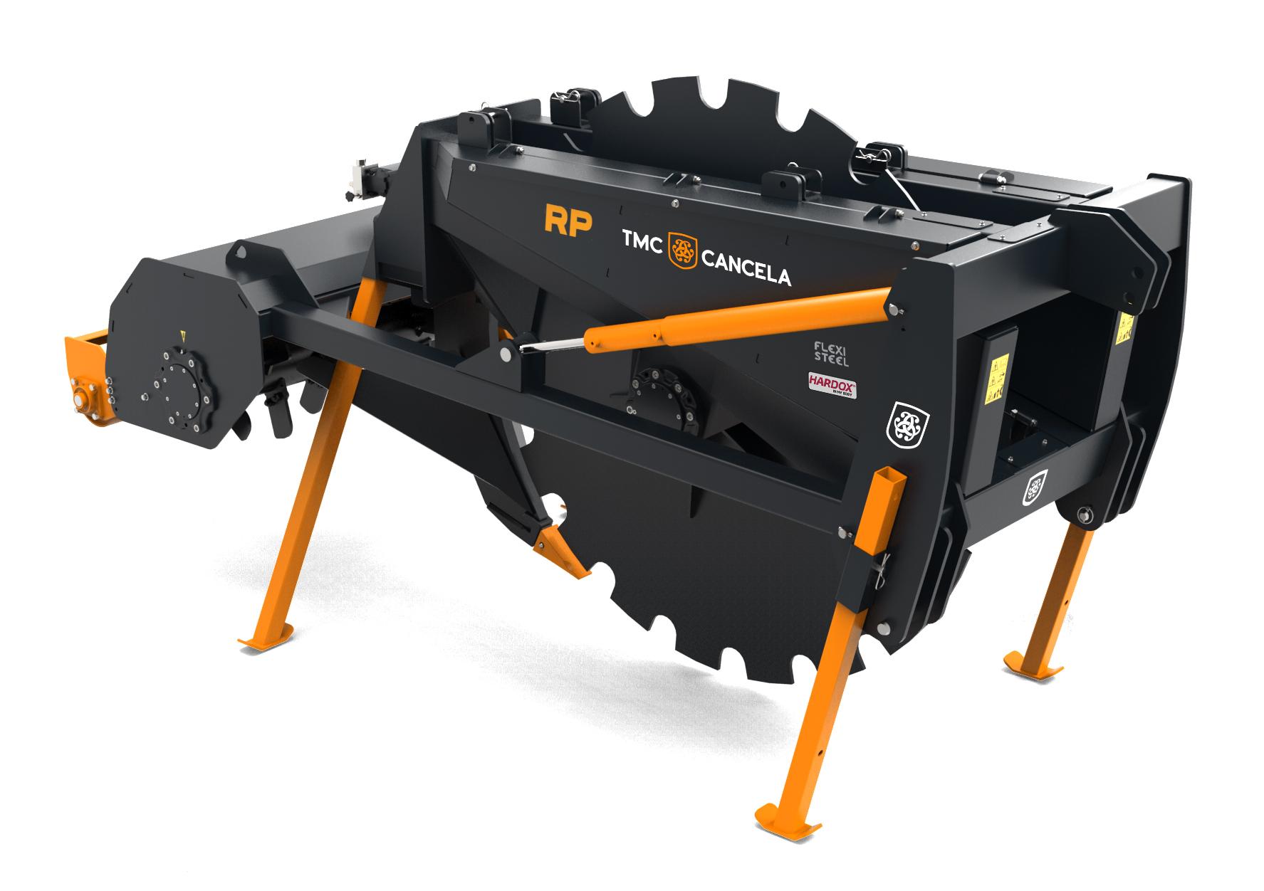 RP 02 Trinciatrice Trincia Trituradora Triturador Forestal Foresta Forestale
