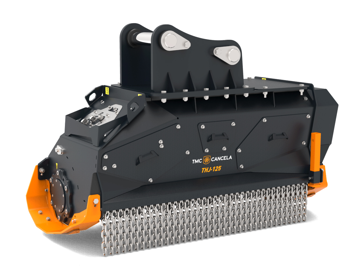 THJ 1 Trinciatrice Trincia Trituradora Triturador Hidraulica